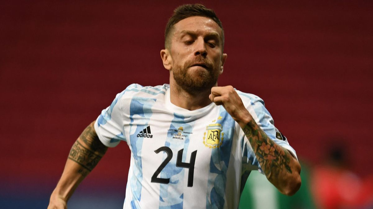 Papu Gomez con l'Argentina