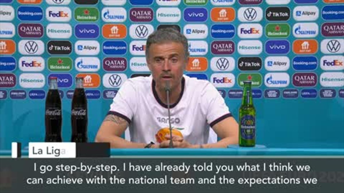 'Today we did it' Luis Enrique after Spain beat Slovakia 5-0