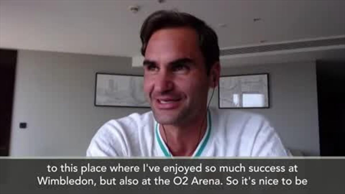 It's always a thrill to play Wimbledon, says Federer