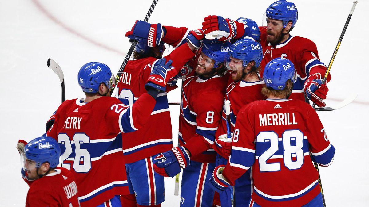 Die Canadiens beendeten ihre Durststrecke