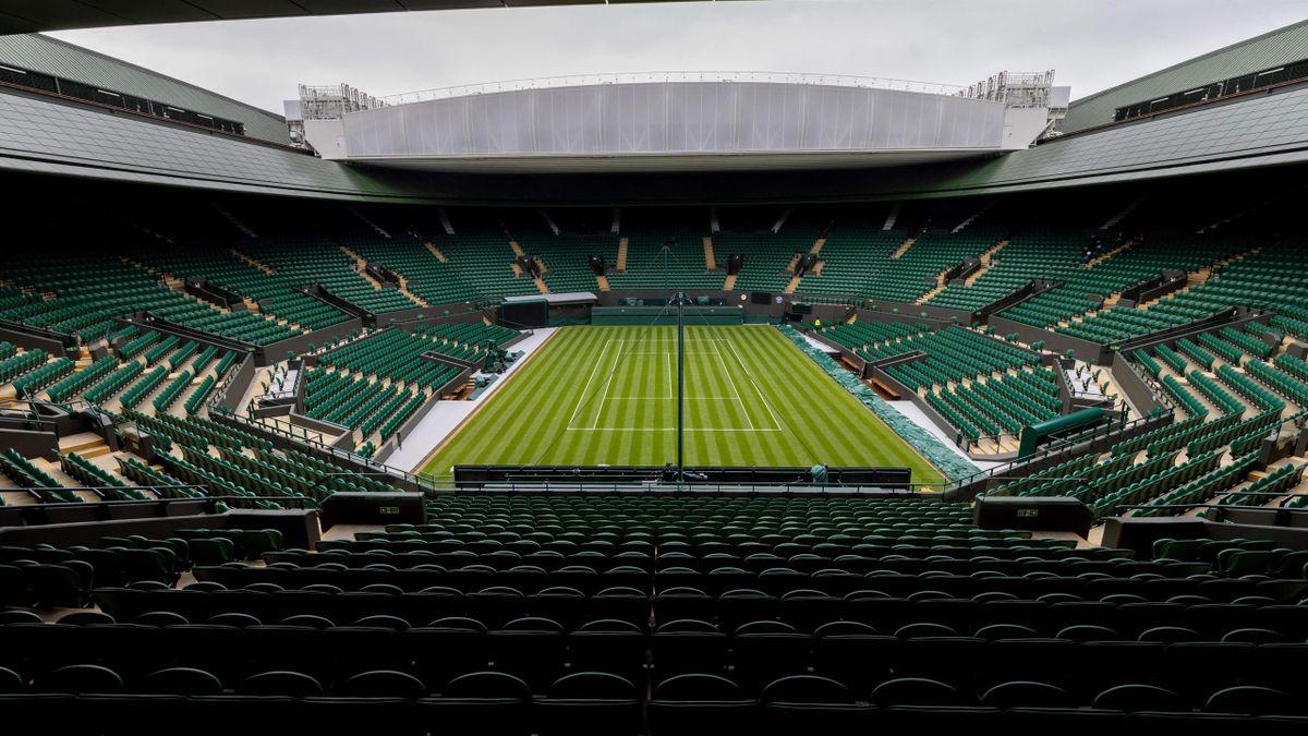 Pista central de Wimbledon 2021