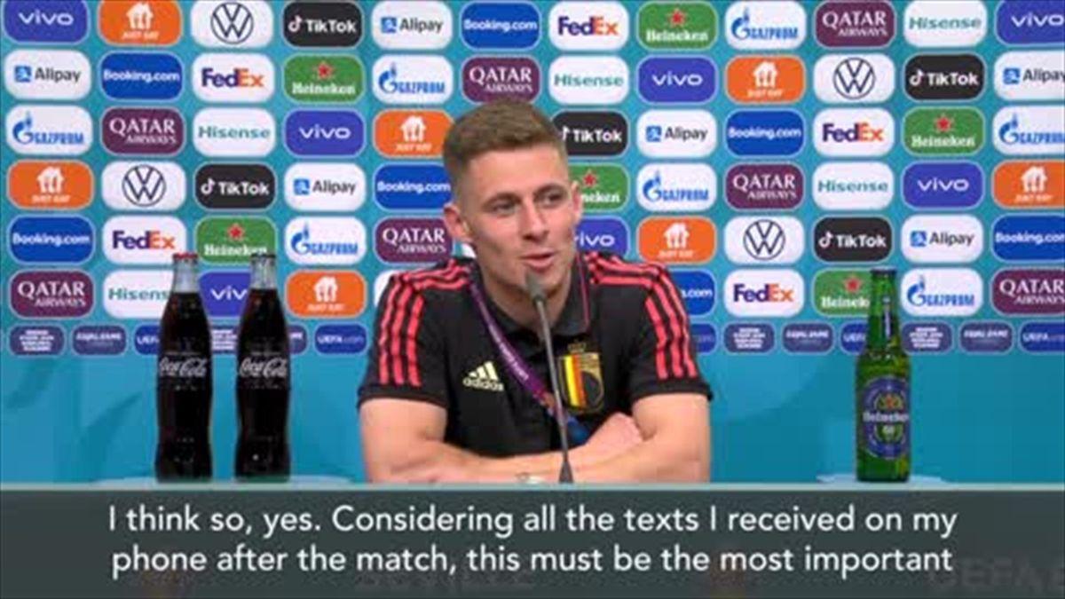 'Most important goal of my career' - Hazard on winner against Portugal