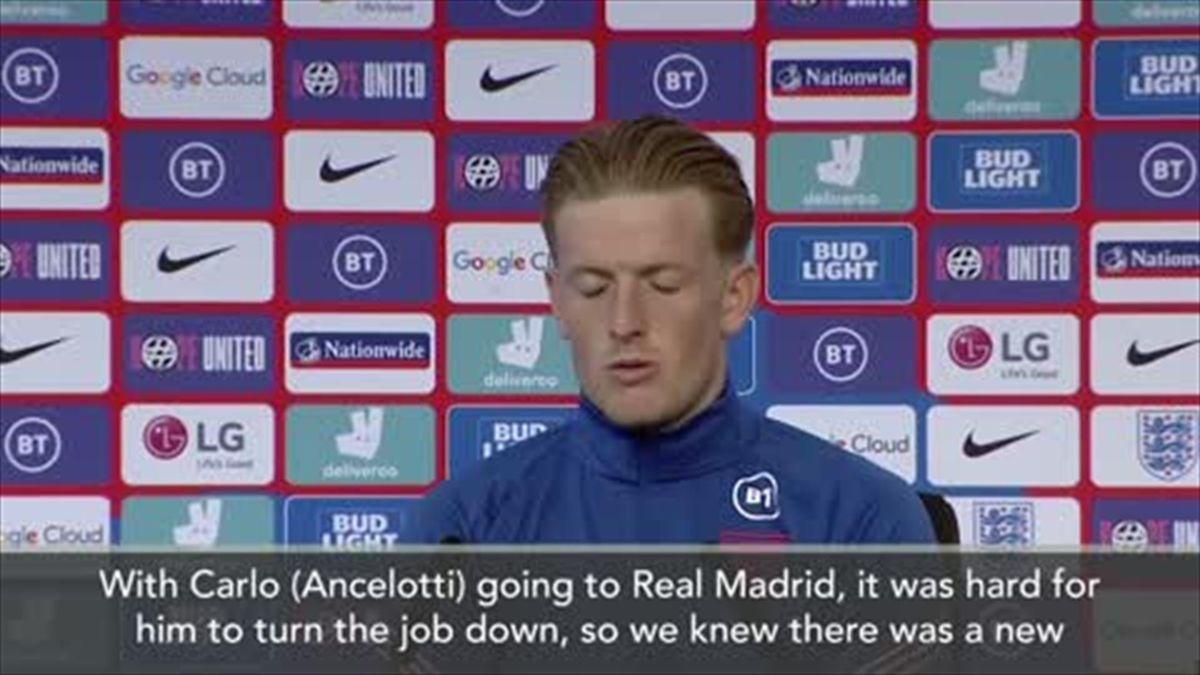 'I spoke to Rafa last night' - Everton's Jordan Pickford reveals Benitez conversation