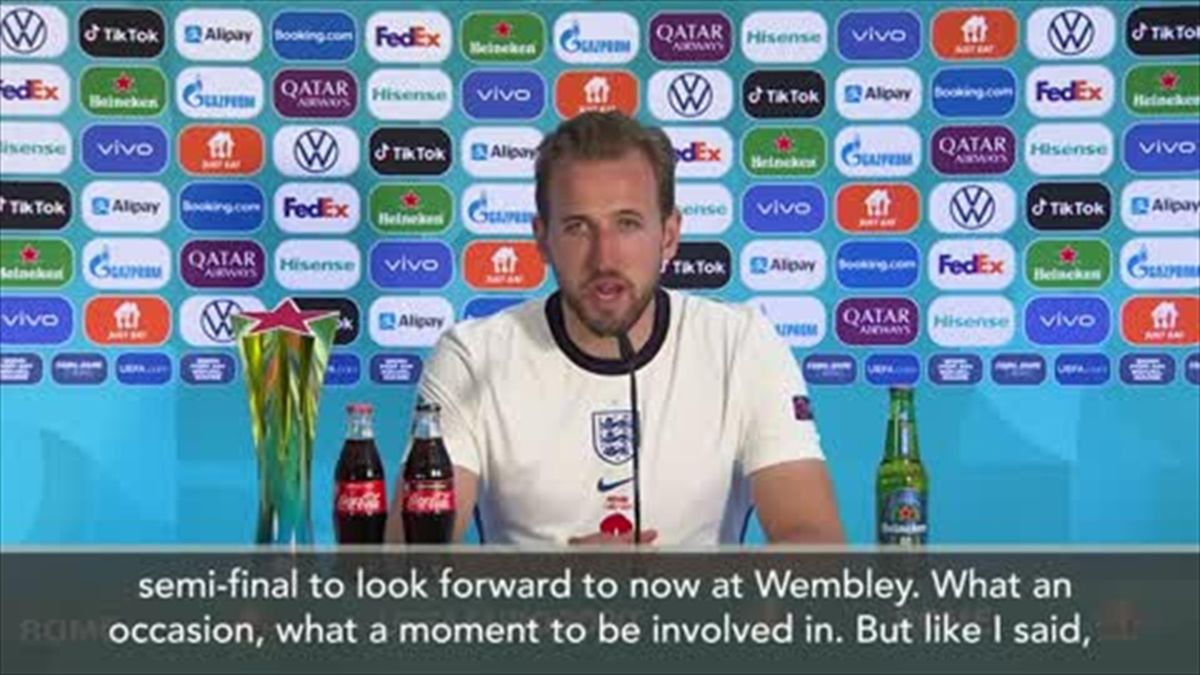 'We haven't done anything yet' - Kane after England make semis