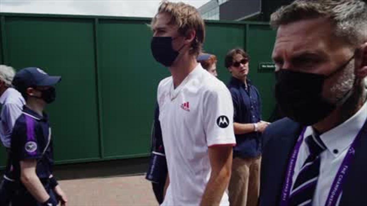 Wimbledon recap: Federer, Barty, Djokovic win through, Raducanu retires hurt