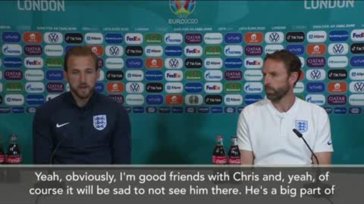 'Show our support' - Kane on Eriksen shirt presentation plans ahead of Denmark game