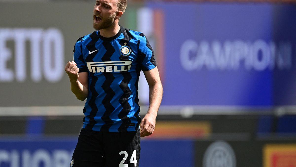Eriksen în tricoul lui Inter, sezonul 2021/22