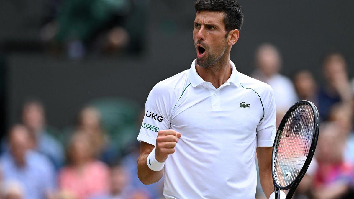 Novak Djokovic steht im Halbfinale von Wimbledon