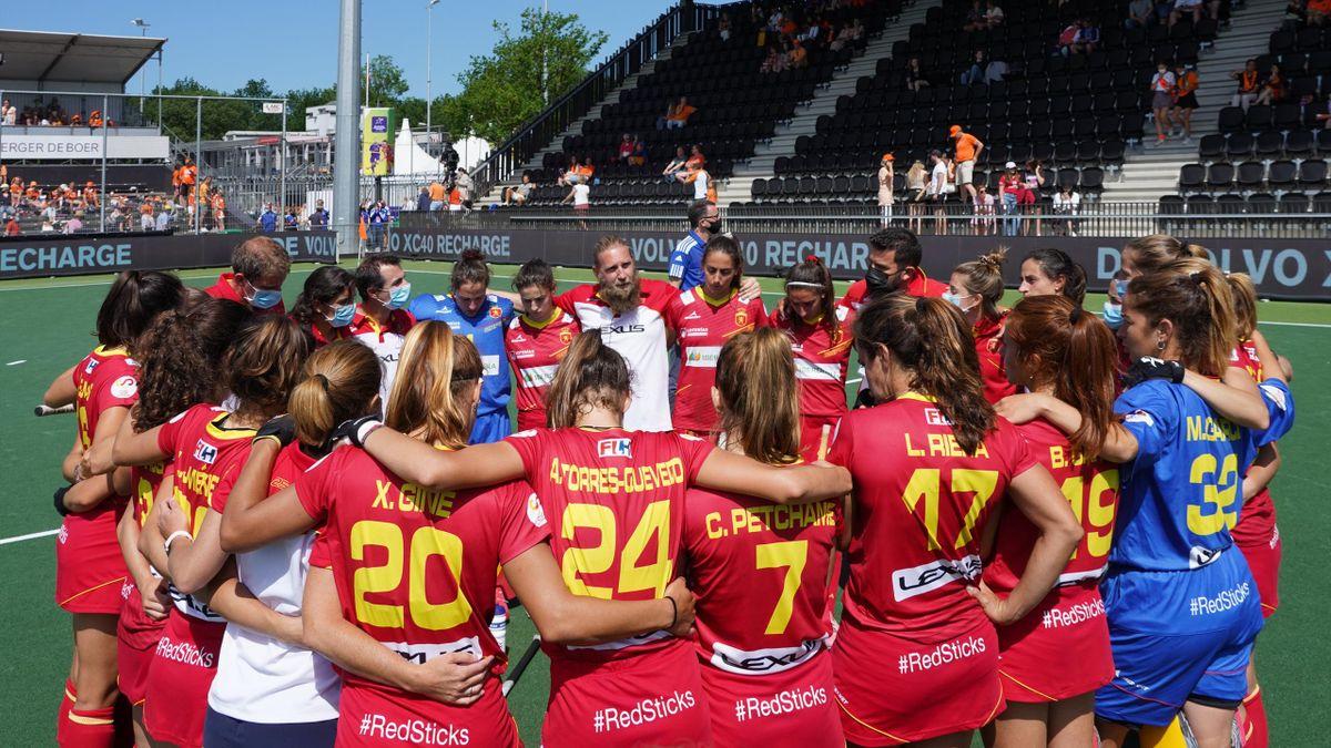 España equipo femenino