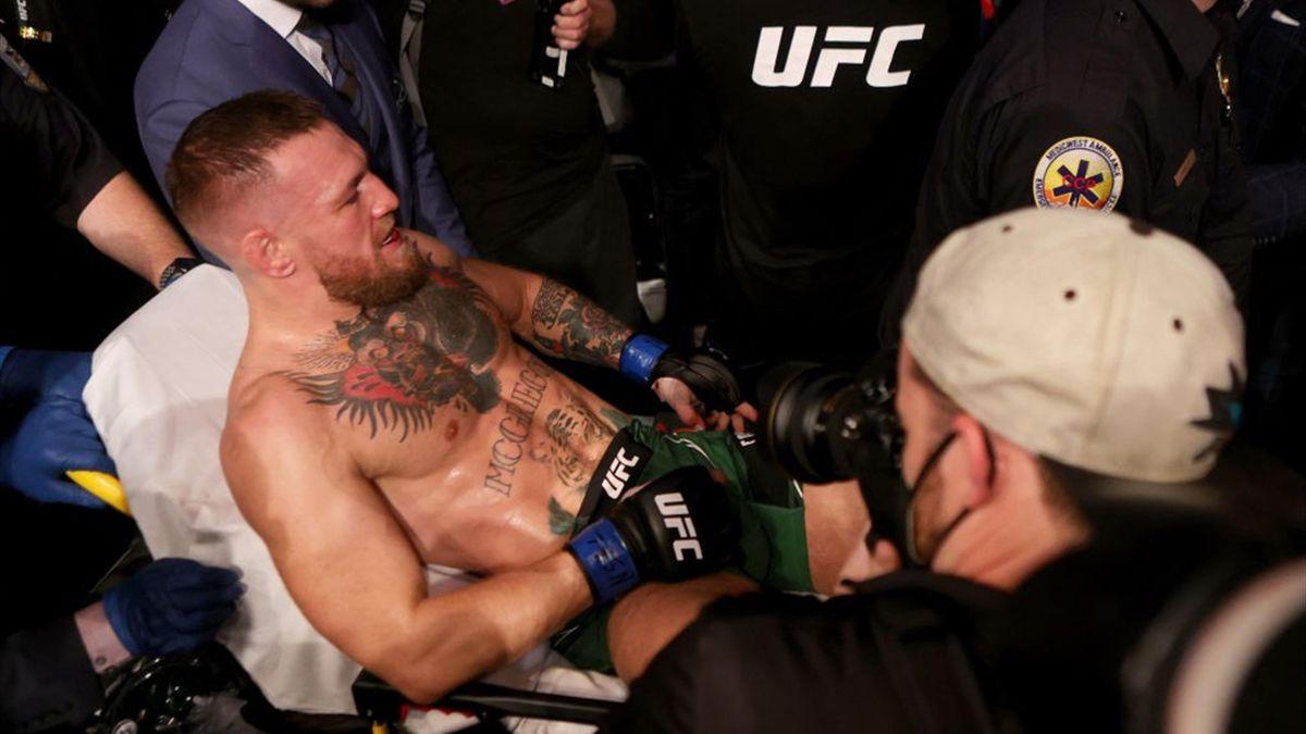 McGregor se fractura la tibia