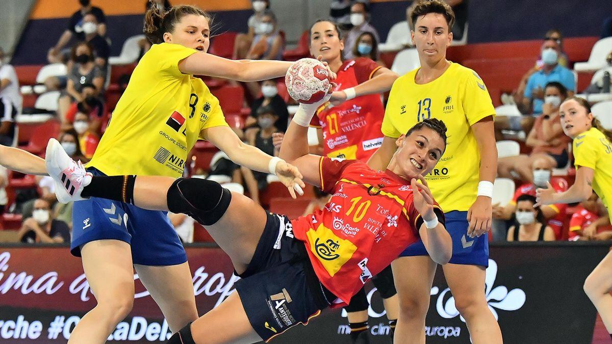 Eli Cesáreo España balonmano guerreras