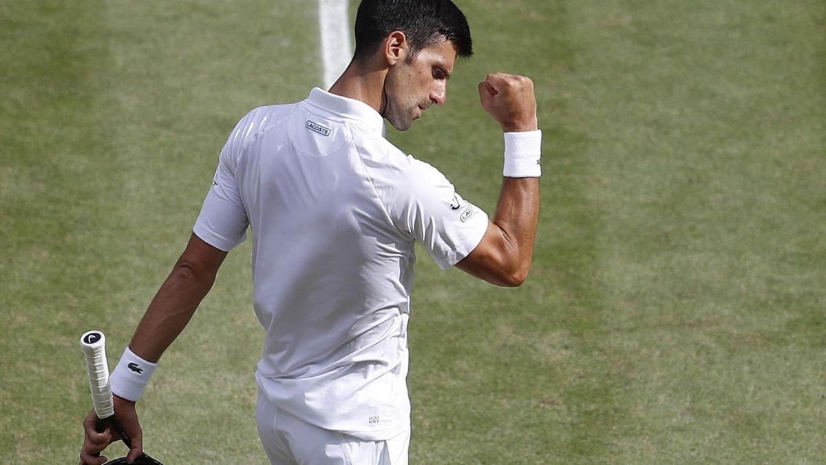 In Tokio dabei: Novak Djokovic