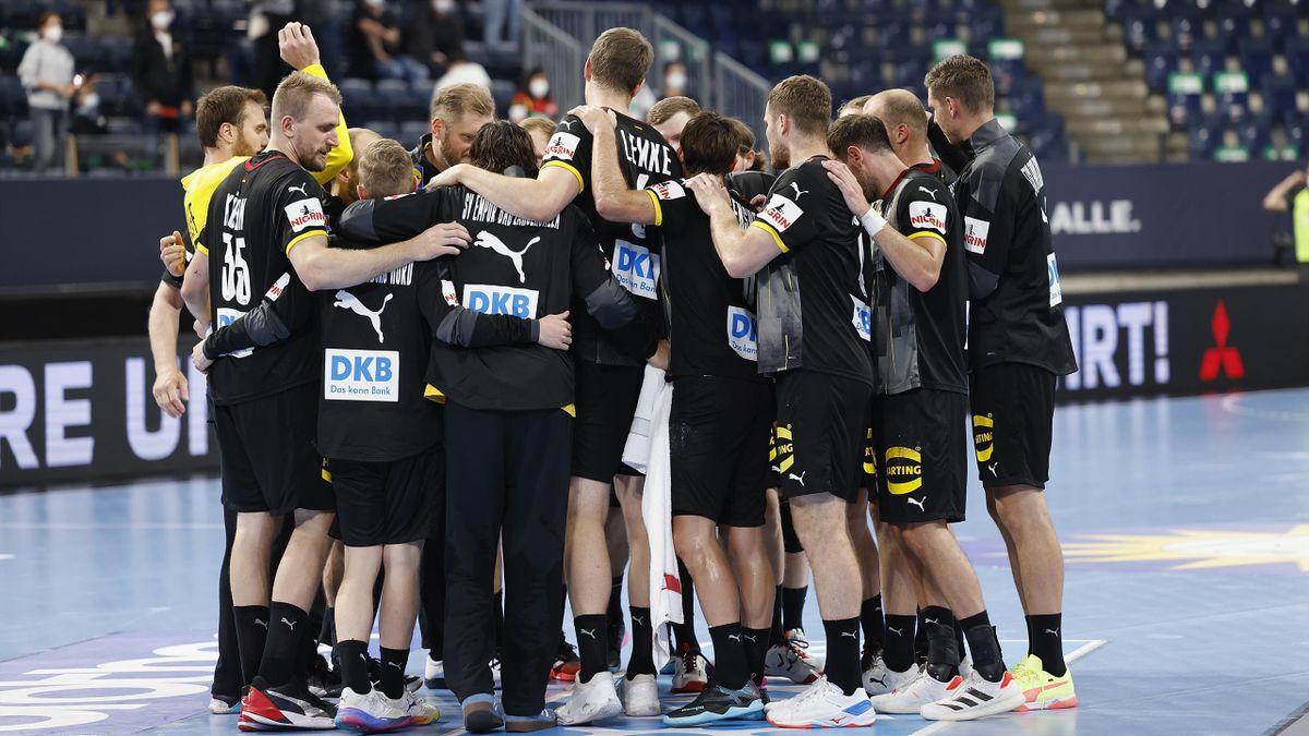 Die deutschen Handballer sind im Dorf angekommen
