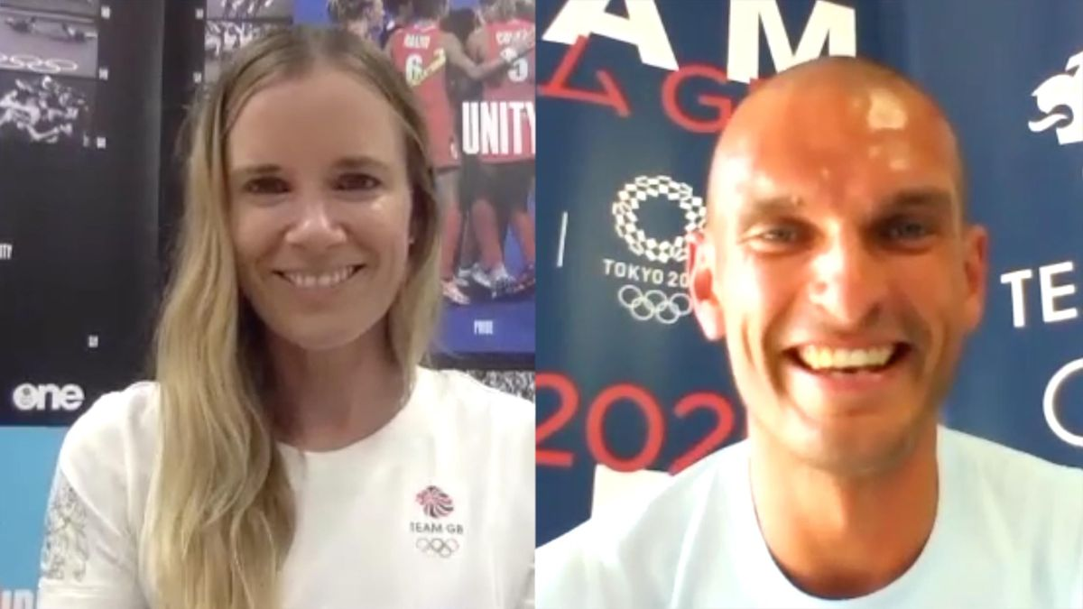 'A real honour' - Hannah Mills and Moe Sbihi on becoming Team GB flag bearers