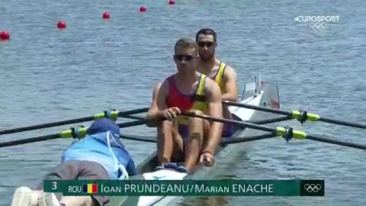 Jocurile Olimpice: Ioan Prundeanu și Marian Enache, în semifinalele probei de dublu vâsle