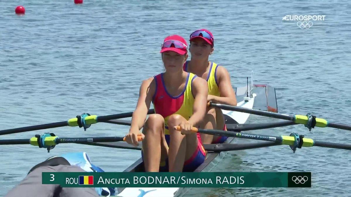 Jocurile Olimpice: Ancuța Bodnar și Simona Radiș, cel mai bun timp din seriile de la dublu vâsle