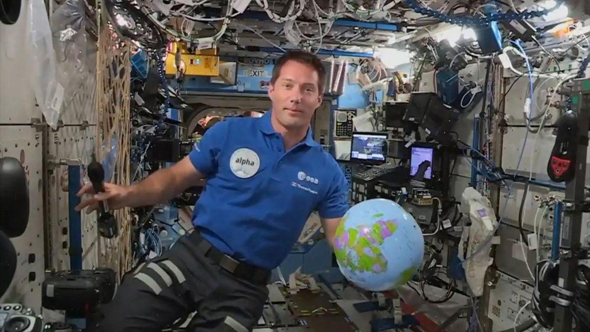 Még az űrből is követik az olimpiát