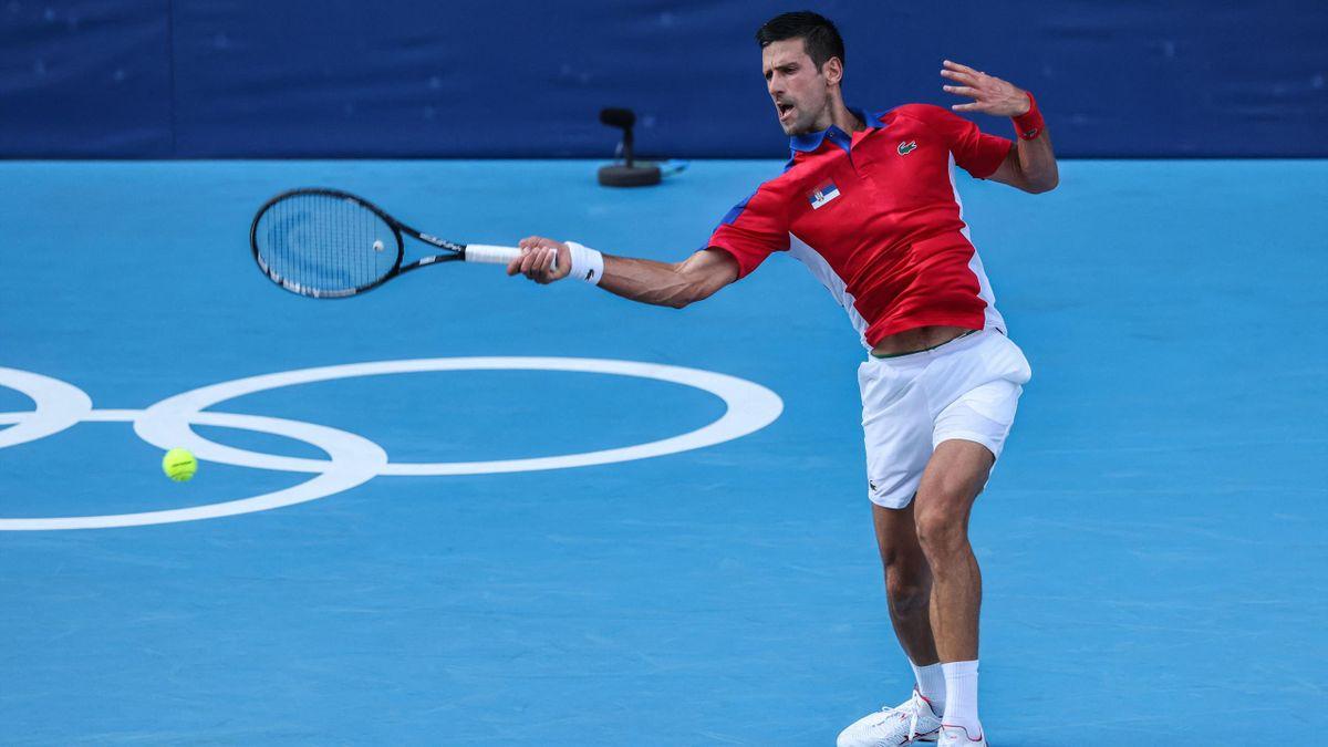 Novak Djokovic Hugo Dellien ellen