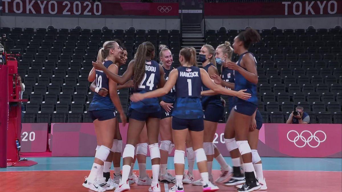 highlights-SPORT CLIP DAY02 - VVO - Women's Preliminary Round - Pool B - USA- ARG - 124753