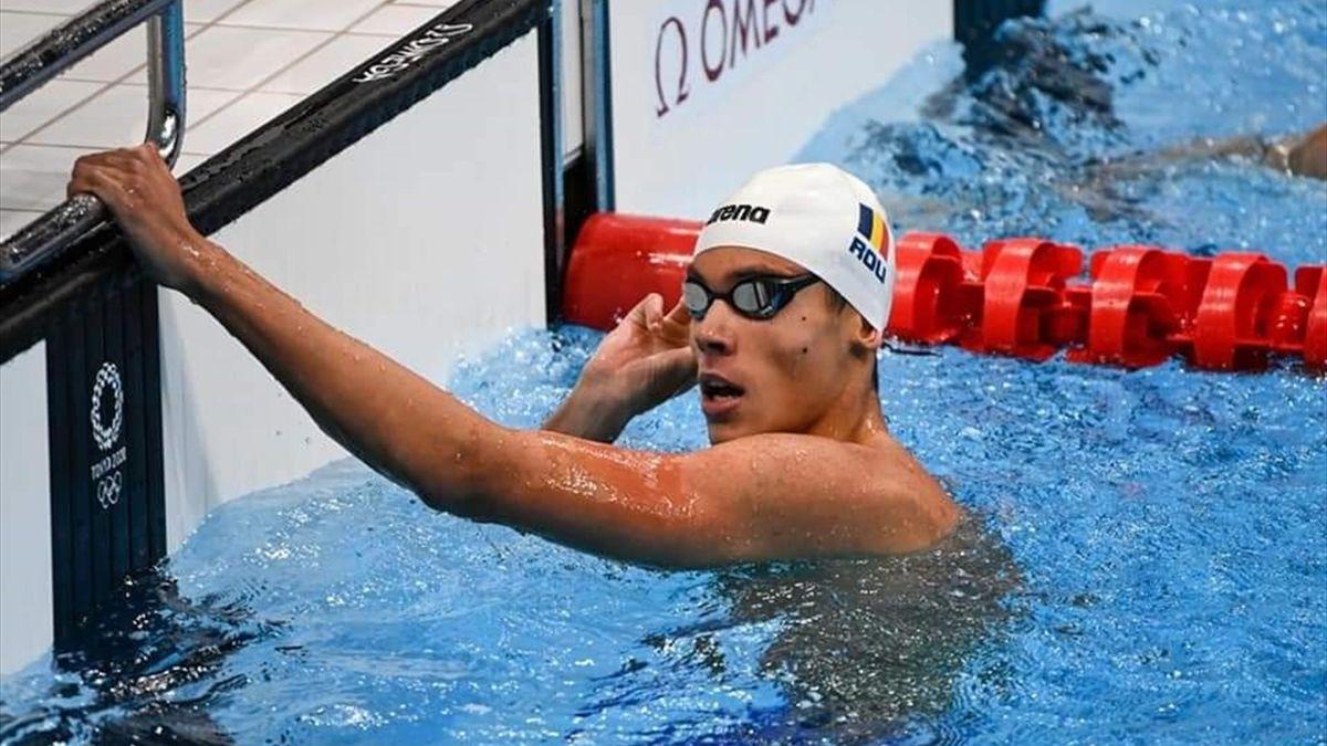 David Popovici la Jocurile Olimpice