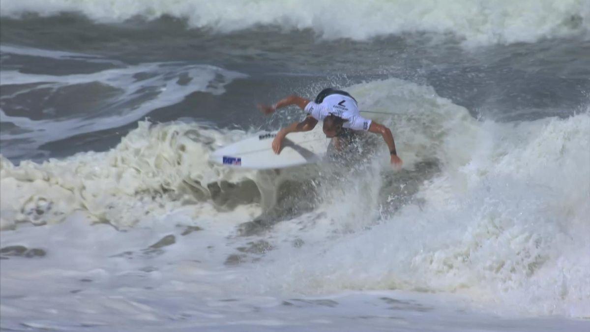Tokyo 2020 Highlights -SPT--Sport Clip - Day 4 - Surfing MEDINA Gabriel vs WRIGHT Owen - Bronze Medal Match