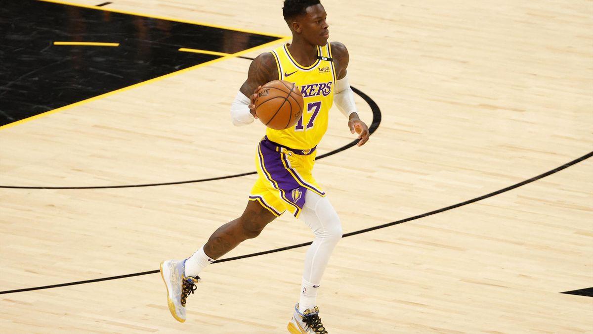 Dennis Schröder wird die Lakers vermutlich verlassen