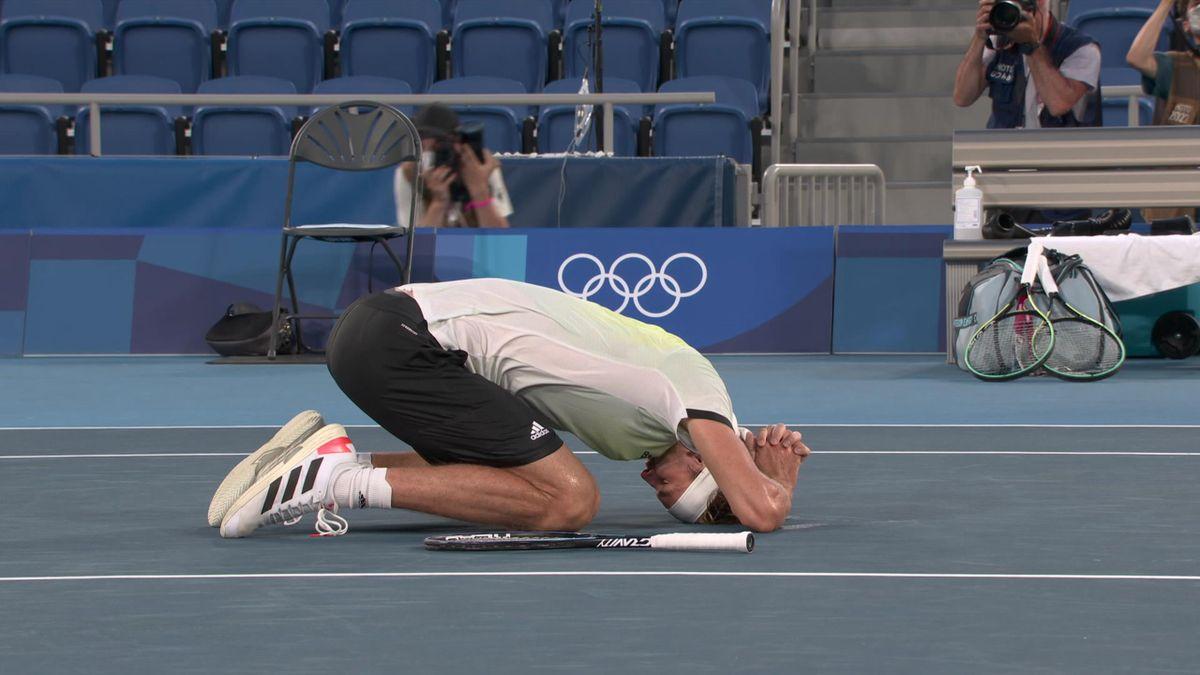 Így nyerte meg az olimpiai döntőt Alexander Zverev