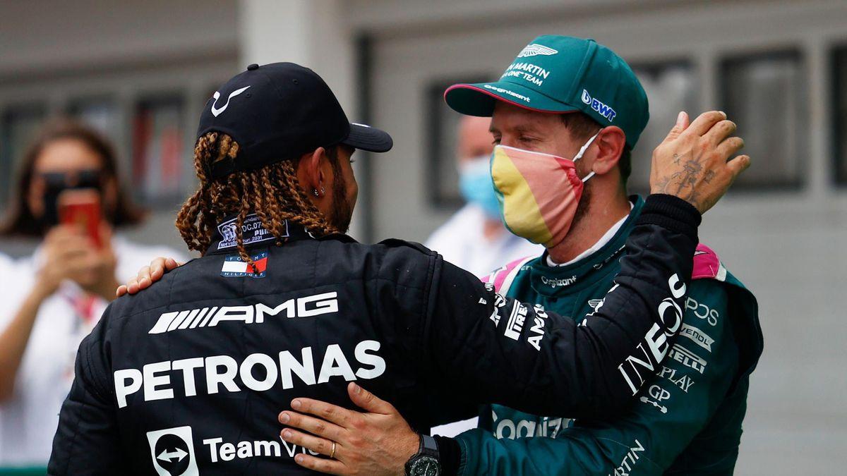 Lewis Hamilton und Sebastian Vettel teilen elf Weltmeisterschaften unter sich auf