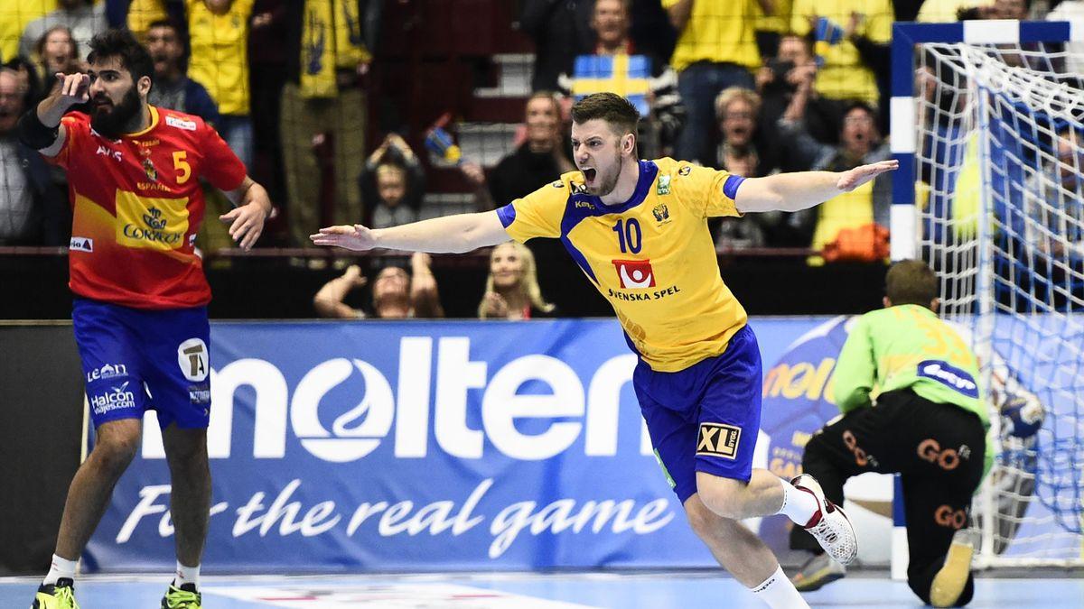 España Suecia balonmano 2016