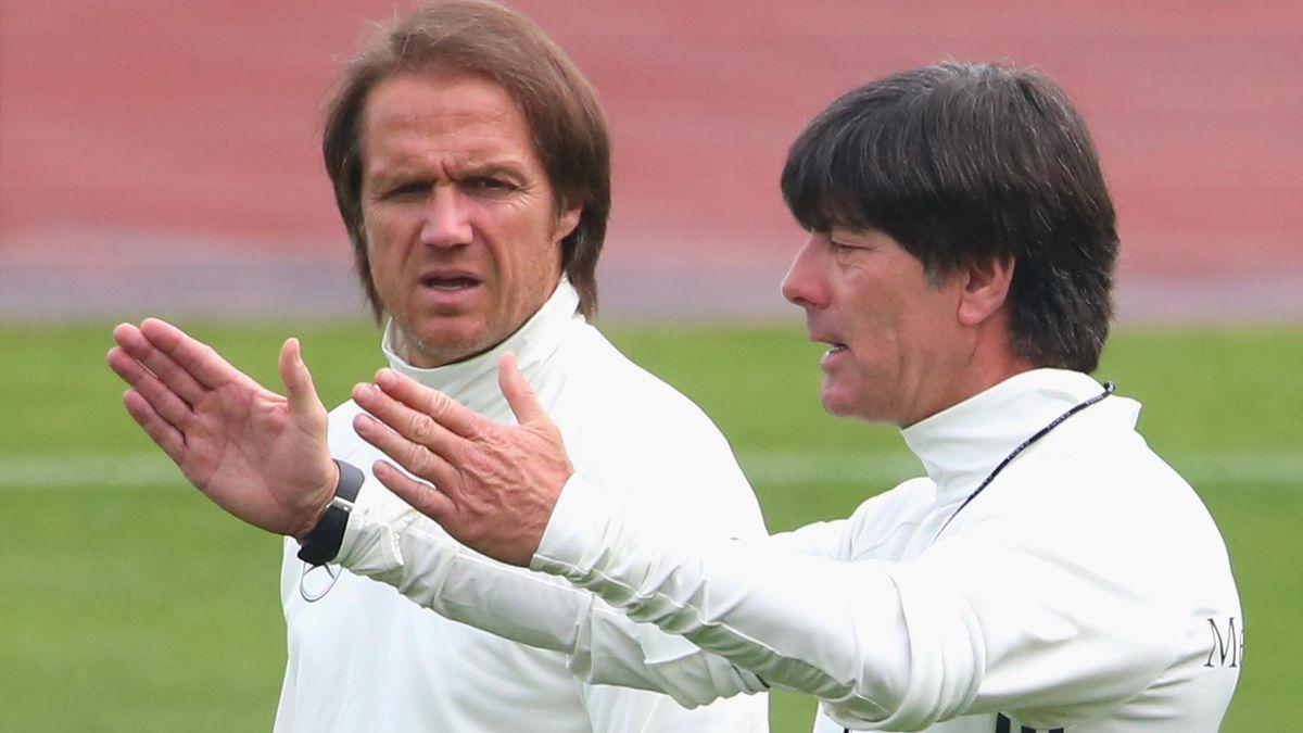Thomas Schneider war von 2014 bis 2018 Co-Trainer von Joachim Löw