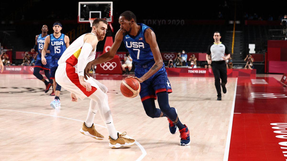 Kevin Durant führt die USA ins Olympia-Halbfinale