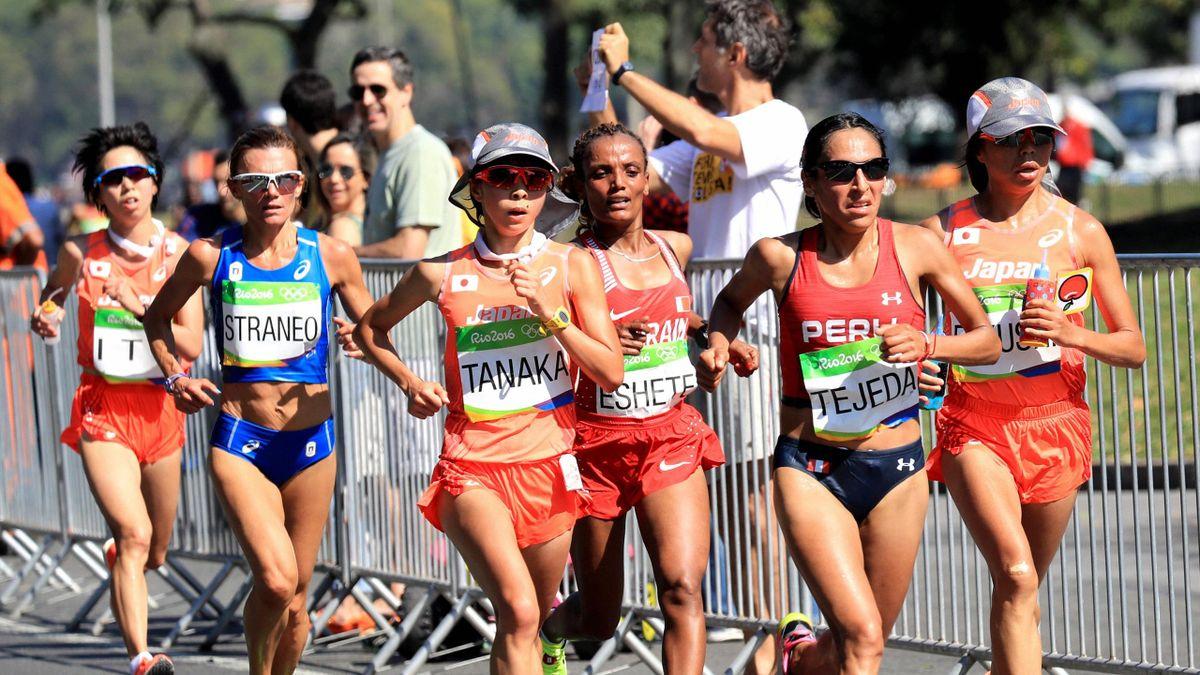 Maratón femenino en Río 2016