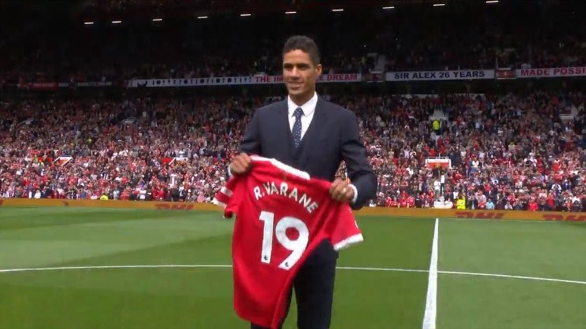 Raphaël Varane, anunciado como jugador del United en Oldtrafford