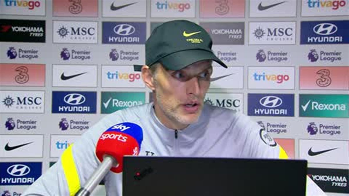 Tuchel: Chelsea 'hunters' not the hunted despite comprehensive Palace win