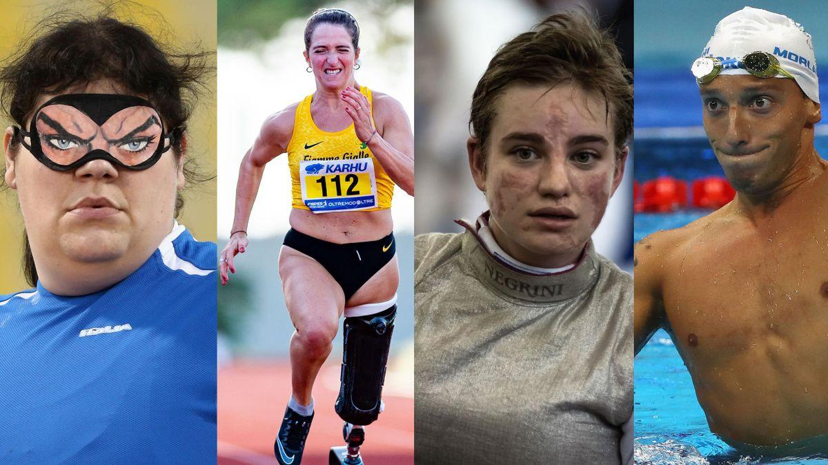 Assunta Legnante, Martina Caironi, Bebe Vio e Federico Morlacchi pronti per le Paralimpiadi di Tokyo
