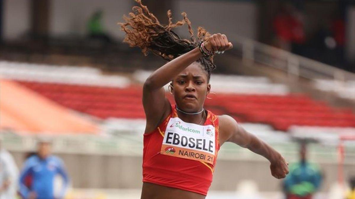 Tessy Ebosele, subcampeona del mundo sub-20