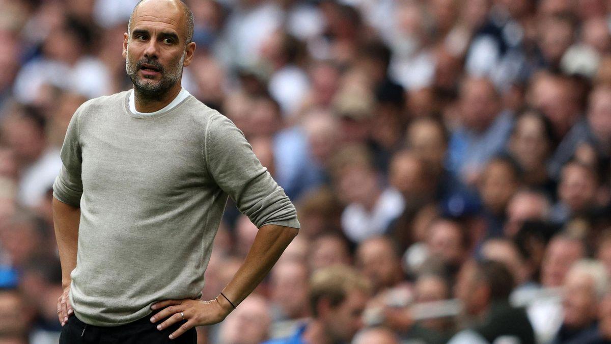 Pep Guardiola holte bislang drei Meisterschaften mit City