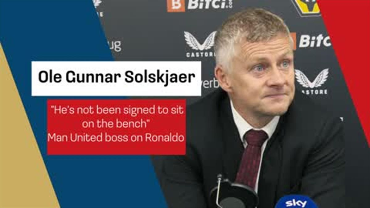 """Ronaldo hasn't been signed to sit on the bench"" Solskjaer on returning hero"