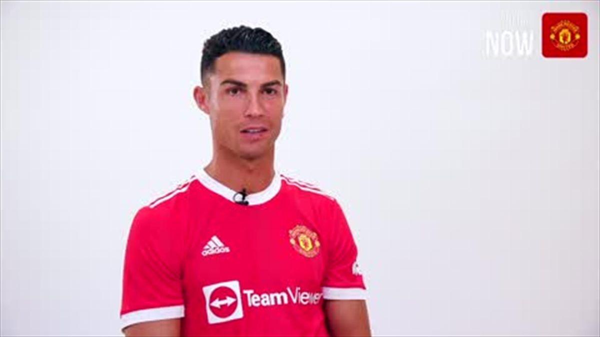 'So happy to be back home' - Ronaldo on Man Utd return