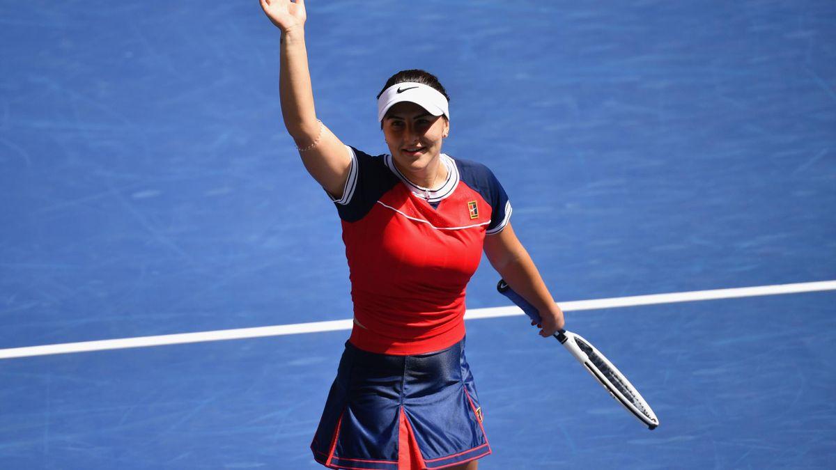 Bianca Andreescu erreichte das Achtelfinale