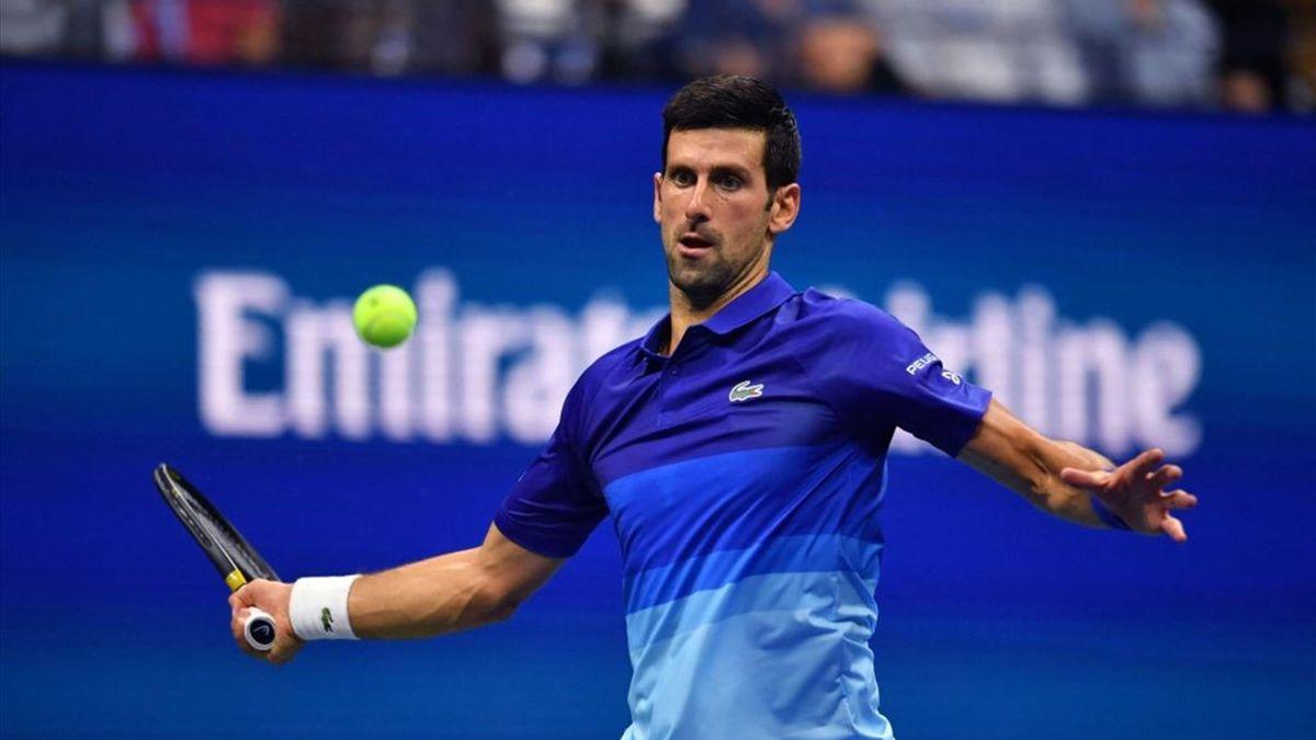 Djokovic-Brooksby en el US Open 2021
