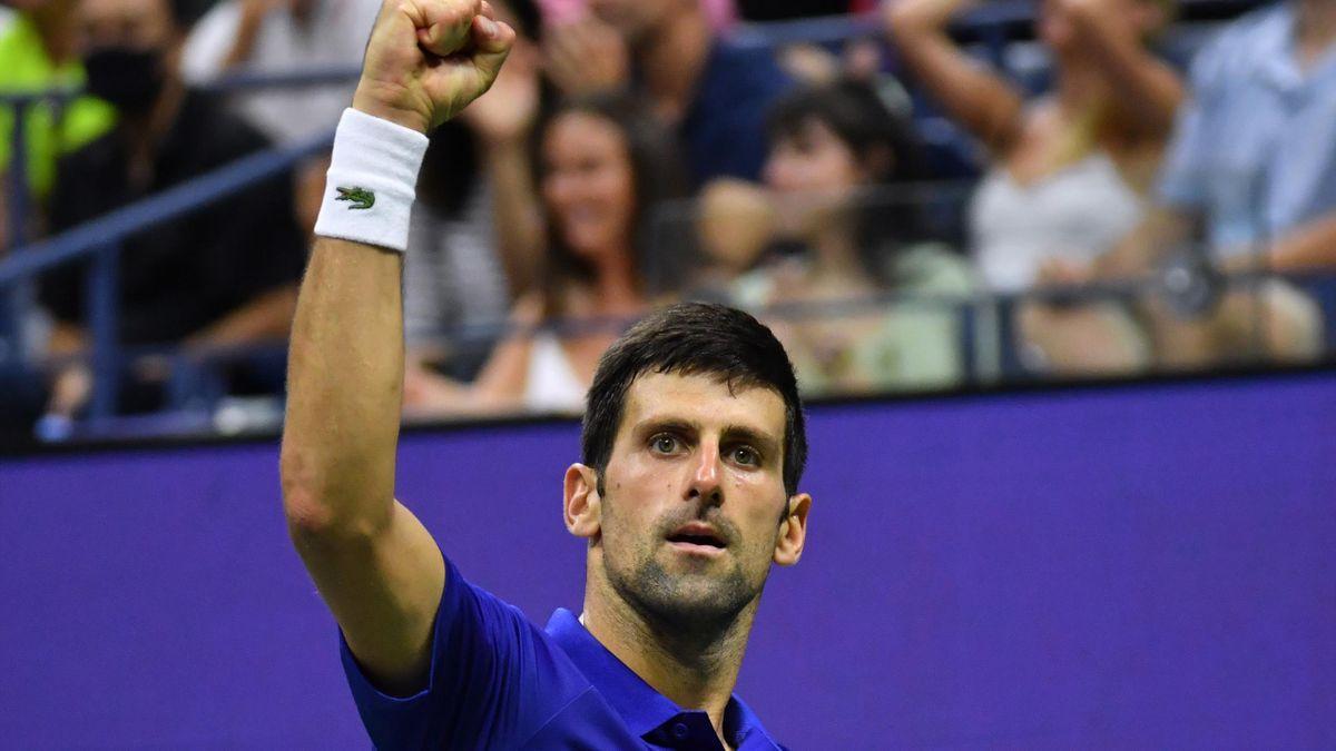 Novak Djokovic steht im Viertelfinale