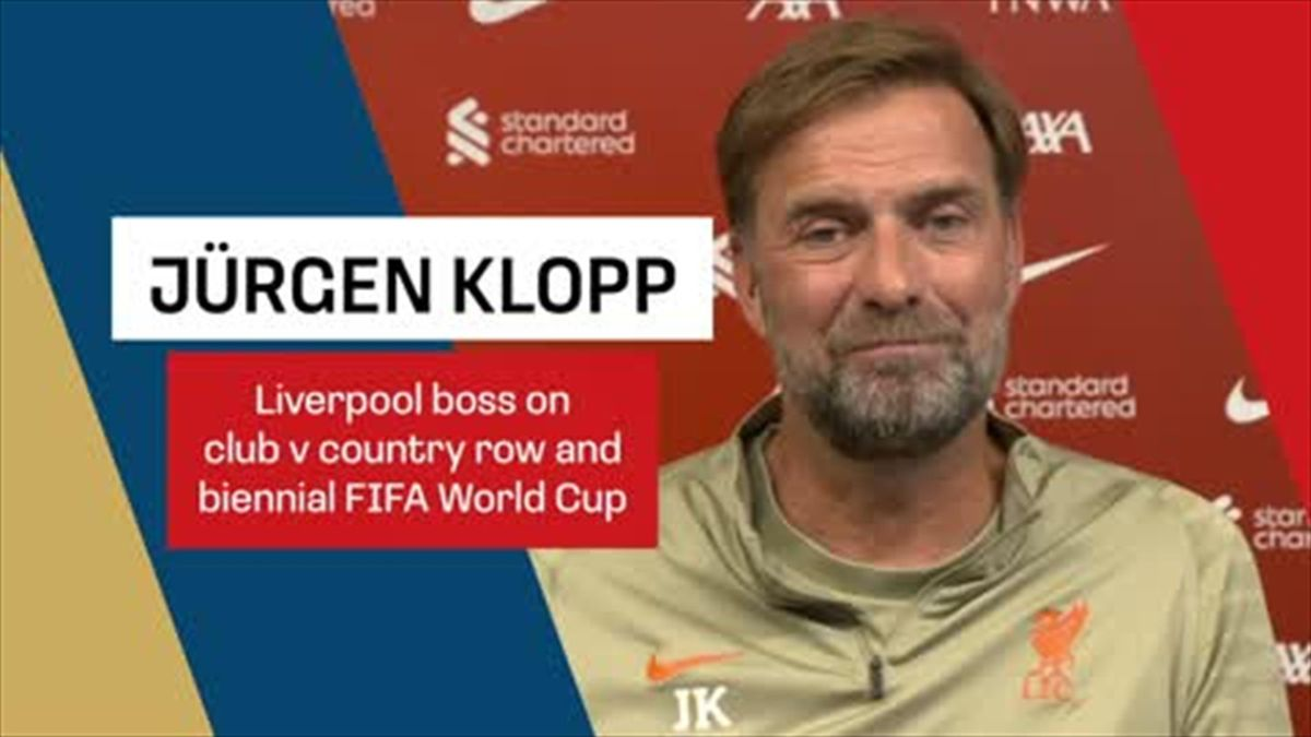 Klopp unhappy with Brazilian bans, says biennial World Cup is 'all about money'