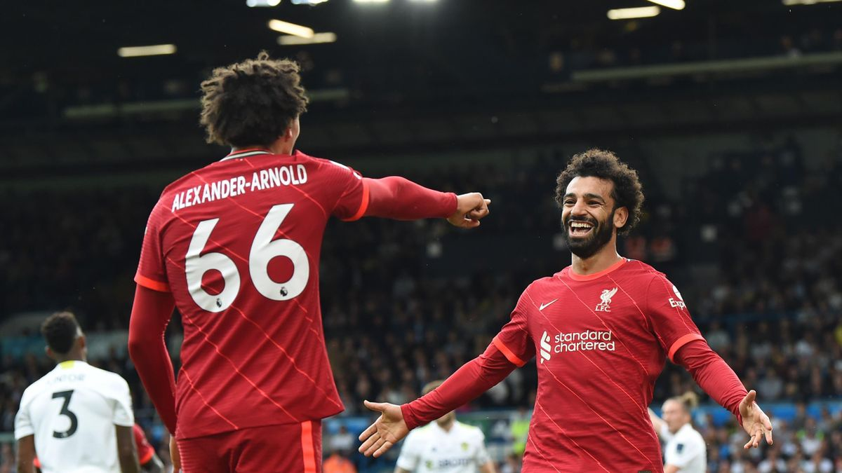 Salah helped Liverpool to another win