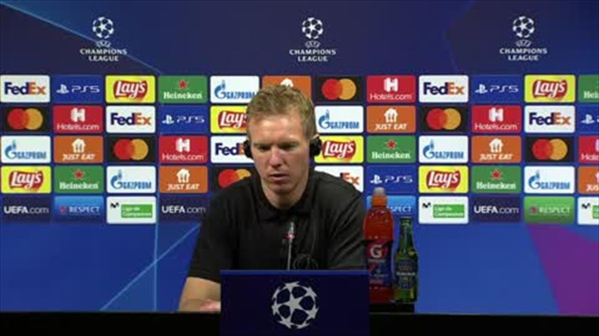 'We were playing against one of the great teams' - Nagelsmann on win over Barcelona