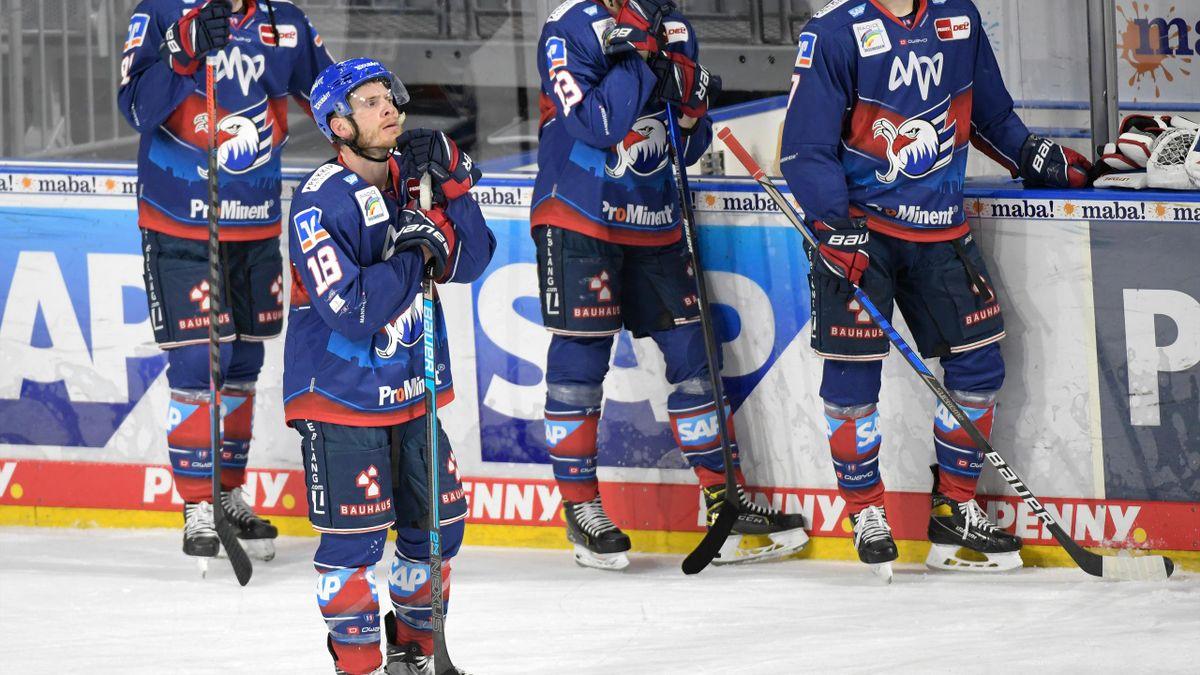 Knapper Sieg für Topfavorit Adler Mannheim