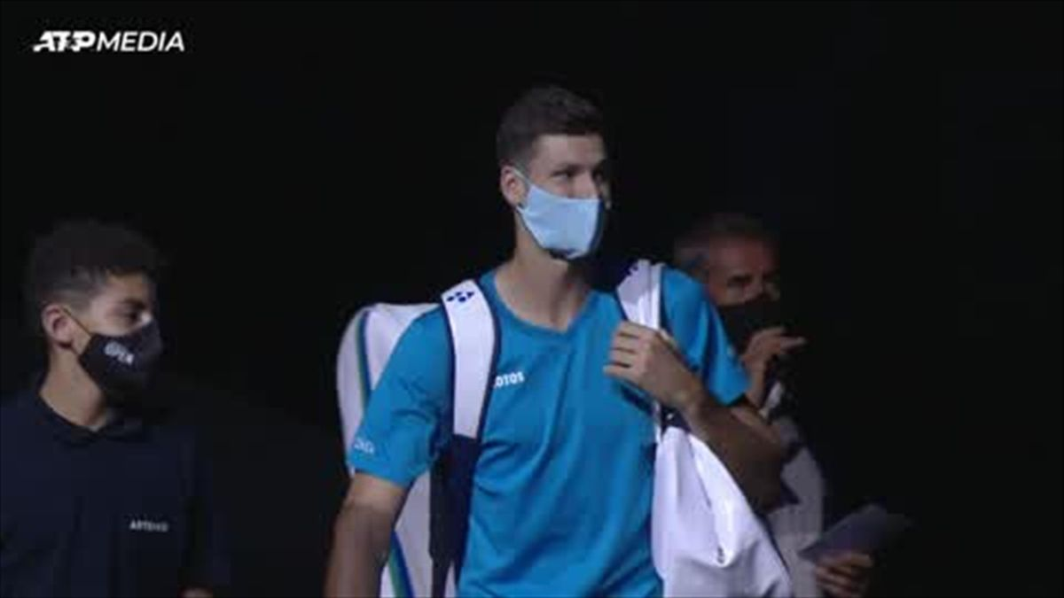 Highlights: Murray falls to Hurkacz in Metz quarter-final
