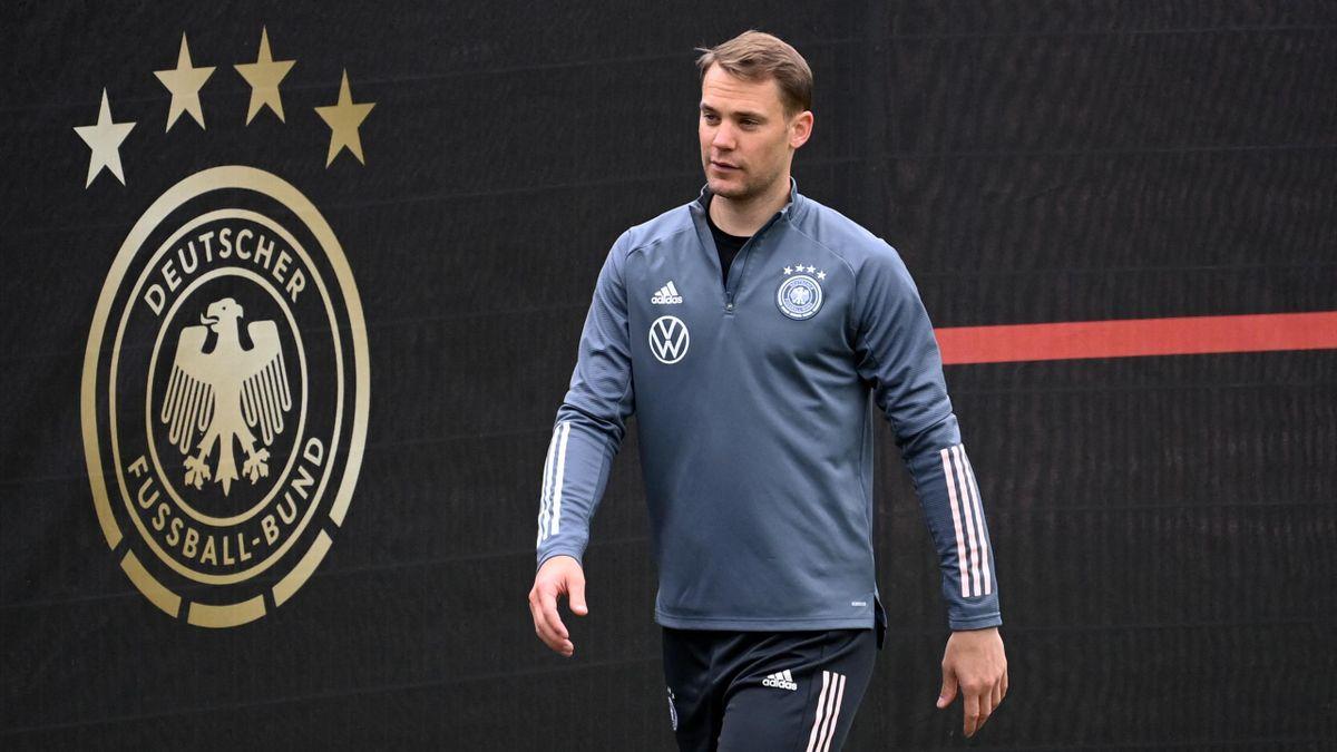 Manuel Neuer fehlte im ersten Training