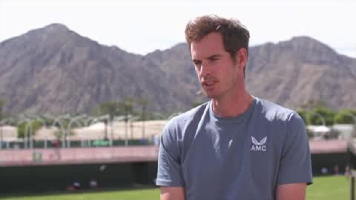 'Shame they're not here' - Murray on Federer, Nadal, Djokovic missing Indian Wells