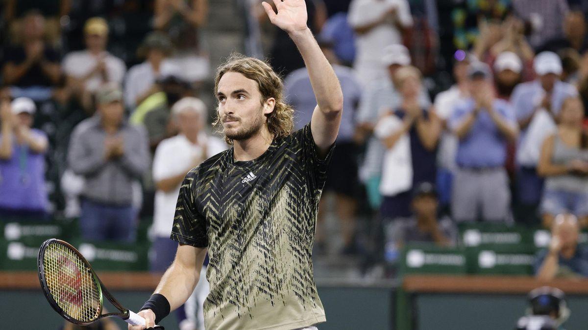 Indian Wells: Day 5 Round 3 - Tsitsipas v Fognini Highlights